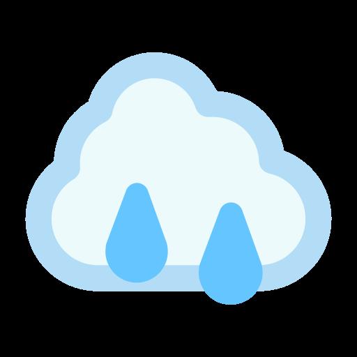 cloud rain raincloud icon