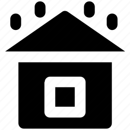 building, heavy rain, home, rain, rainy, rainy house, weather icon