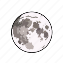 astronomy, moon, sky, weather icon