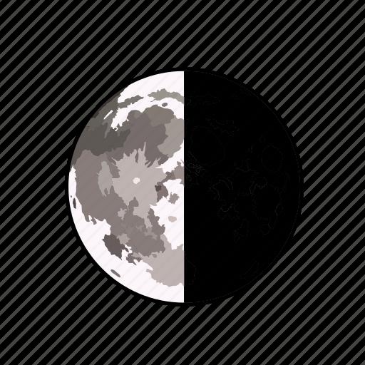 astronomy, moon, sky, weather icon
