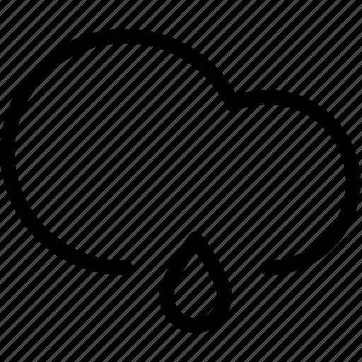 cloud, raindrop, raindrops, weather icon