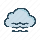 airs, climate, cloud, weather, winds icon