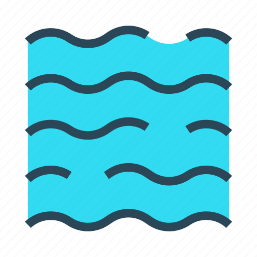 climate, river, sea, water, weather icon