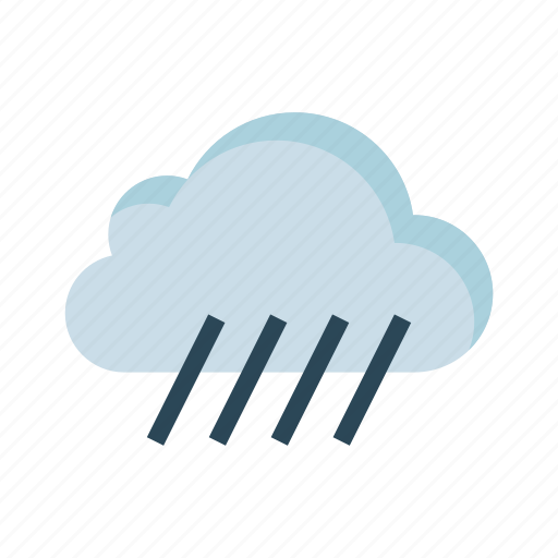 climate, cloud, drops, raining, weather icon