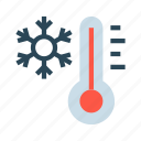 climate, flake, snow, temperature, weather icon