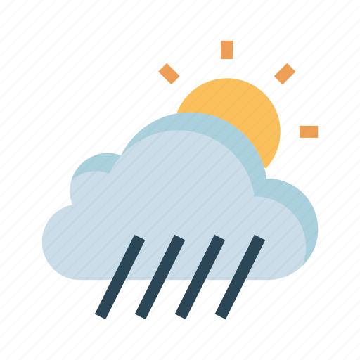 climate, cloud, shine, sun, weahter icon