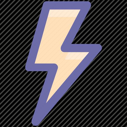 execute, lightning, storm, thunder, weather icon