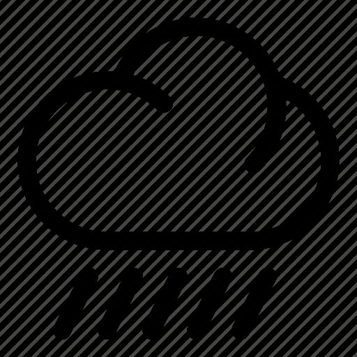 cloud, heavy rain, rain, storm, weather icon