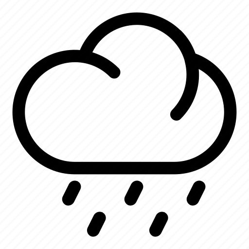 cloud light rain rain weather icon icon search engine
