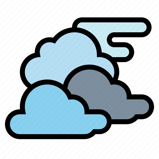 atmosphere, cloud, cloudy, overcast icon