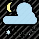 cold, freezing, minus, night, temperature, winter icon