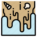 current, ebb, flood, flow, neap, tidal, tide icon