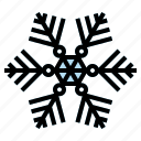 cold, cool, hail, snowflake, winter icon
