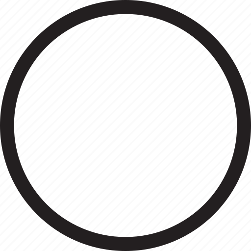 circle, full, month, moon icon