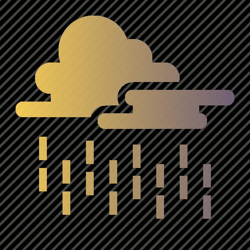 Heavy, meteorology, rain, rainy, weather icon - Download on Iconfinder