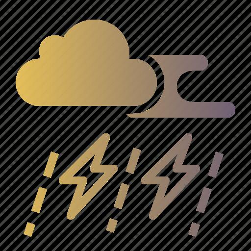 Lightning, rain, rainy, storm, thunder icon - Download on Iconfinder
