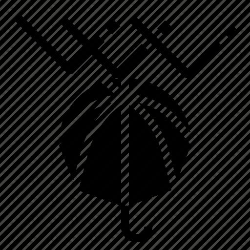 Protect, raindrops, rainy, umbrella, winter icon - Download on Iconfinder