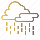 heavy, meteorology, rain, rainy, weather icon