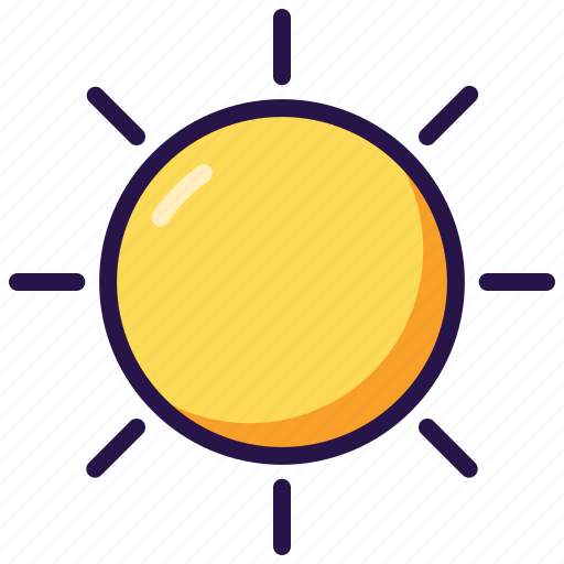 Sun, sunny, weather icon - Download on Iconfinder