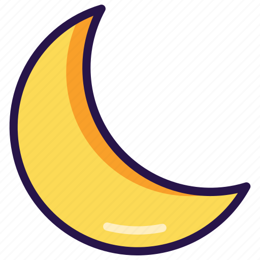 Moon, night icon - Download on Iconfinder on Iconfinder