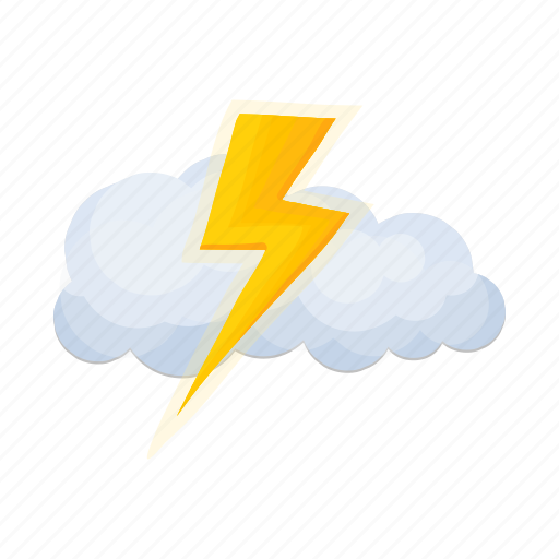 cloud, cyclone, forecast, lightning, thunderstorm, weather, weather forecaster icon