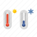 temperature, weather, device, low, high, thermometer