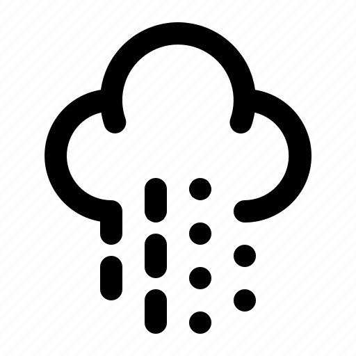 cloud, forecast, rain, snow, weather, winter icon