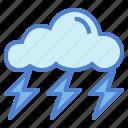 rain, storm, thunder