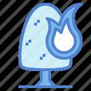 burn, danger, wildfire icon