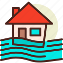 assurance, disaster, flood, home, house