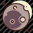 dark, full, moon, night icon