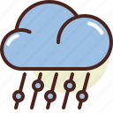 cloud, ice, weather icon