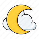 climate, cloud, forecast, moon, weather