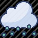 cloudy, cold, precipitation, rainfallnter, sleet, storm, wisnowy