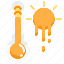 celsius, climate, hot, temperature, thermometer