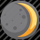 astronomy, moon, nature, night