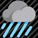 cloud, haw, raining, rainy, weather icon