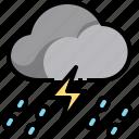 cloud, raining, rainy, storm, thunderbolt, weather