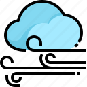 cloud, forecast, weather, wind, windy