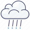 rain, cloud, weather, rainy icon