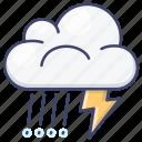 rain, thunder, storm, weather