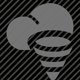 cloudy, hurricane icon