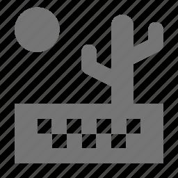 cactus, desert, drought icon