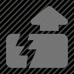 earthquake, home, house icon