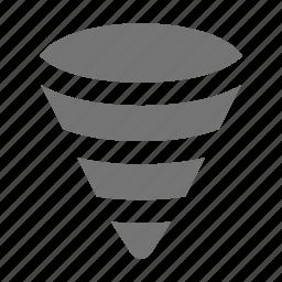 hurricane, tornado icon