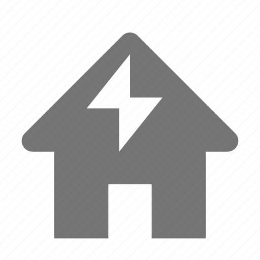 electricity, home, house, power shortage icon