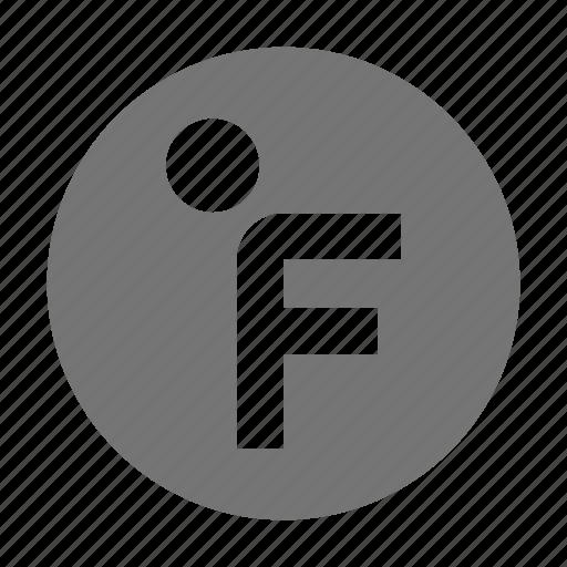 fahrenheit, temperature icon