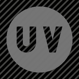 ray, uv, uv ray icon
