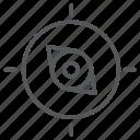 compass, direction, north, orientation icon