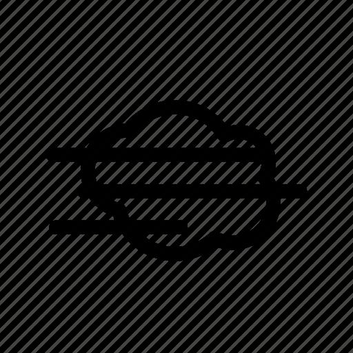 cloud, fog icon